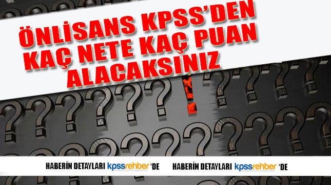 Önlisans KPSS