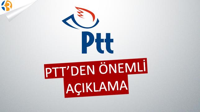 PTT A.Ş. Personel Alımı Hakkında Uyarı Yaptı!