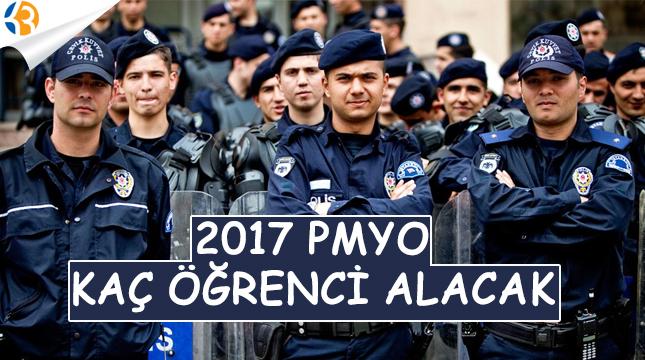 2017 Yılı Polis Meslek Yüksekokulu 2 Bin 500 Öğrenci Alımı Yapacak