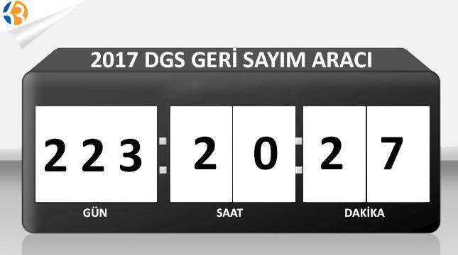 2017 DGS ye Kaç Gün Kaldı?