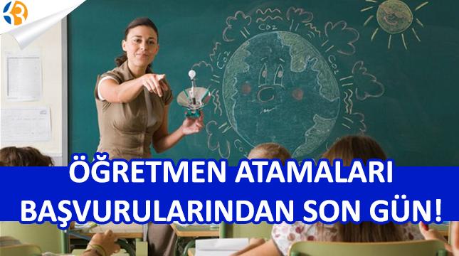 20 Bin Sözleşmeli Öğretmen Atama Başvurularında Son Gün!