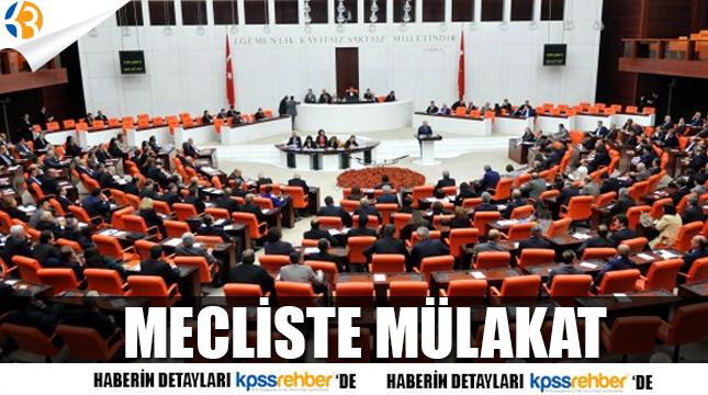 Sözleşmeli Öğretmenlik Mülakatı Mecliste!