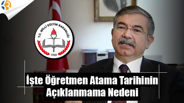 Öğretmen Atama Kontenjanları ve Tarihi Neden Açıklanmadı
