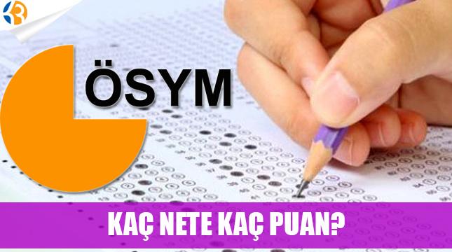 Ortaöğretim KPSS güncel hesaplama | KPSS kaç net kaç puan yapar?