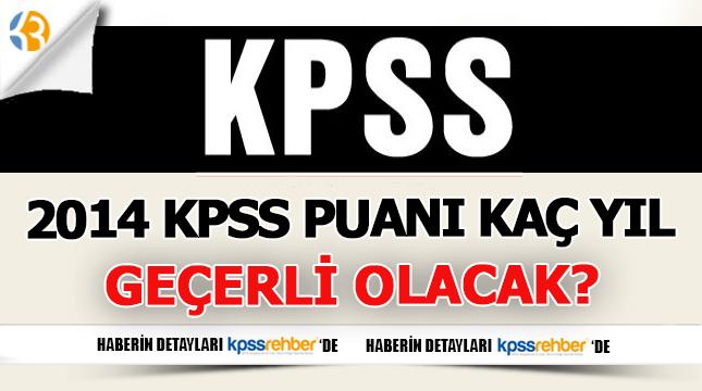 2014 KPSS Adayları Puanlarıyla Tercih Hakları Bitti mi?