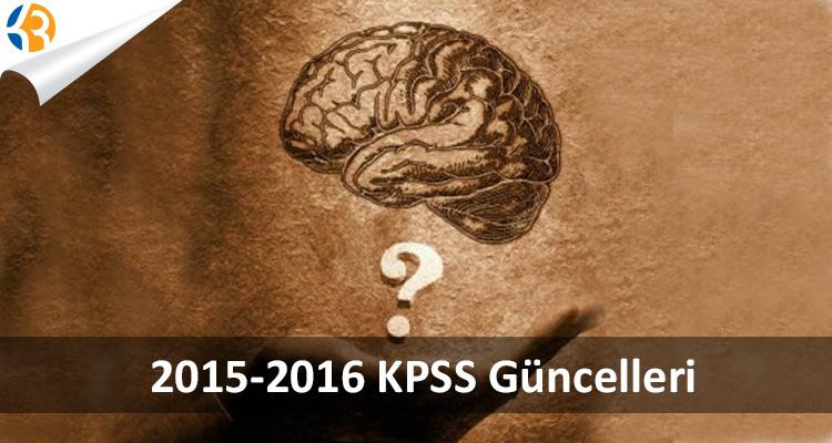2016 KPSS