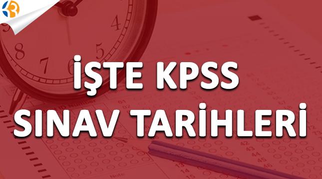 İşte 2018 KPSS Sınav Başvurusu ve Tarihleri Belirlendi