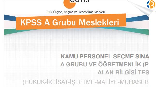 KPSS A GRUBU MESLEKLERİ