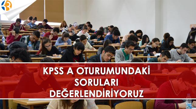 KPPS A Oturumu Sorularını Değerlendiriyoruz!