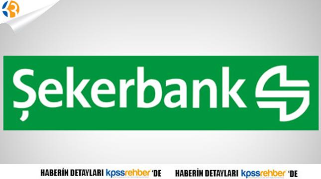 Şeker Bank 6 Pozisyon İçin Personel Alıyor