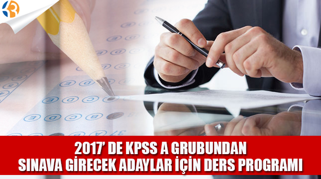 KPSS A İçin Kaynak ve Ders Notu Önerileri