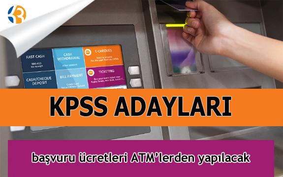 2016 KPSS Ücreti Hangi Bankalara Yatacak?