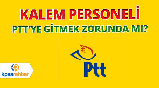 Kalem Personeli PTT
