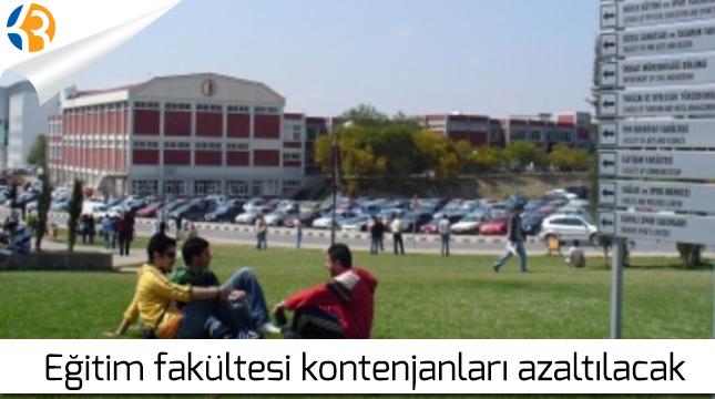 Eğitim Fakültesi Kontenjanları Azaltılacak