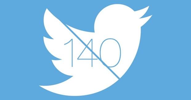 Twitter'da 140 karakter sınırı tarih oldu