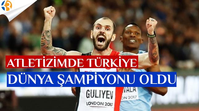 Atletizmde Türkiye Dünya Şampiyonu Oldu