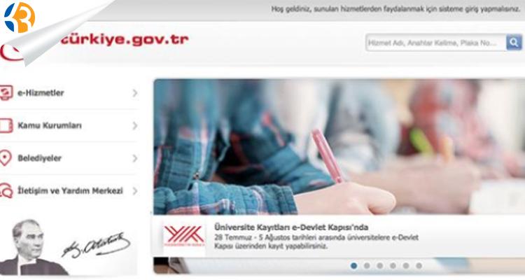 ÖSYM işlemleri e-Devlet'ten yapılabilecek